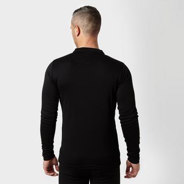 Black Peter Storm Men's Long Sleeve Zip Neck Thermal T-Shirt