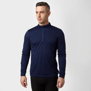 Men's Long Sleeve Thermal Zip Baselayer