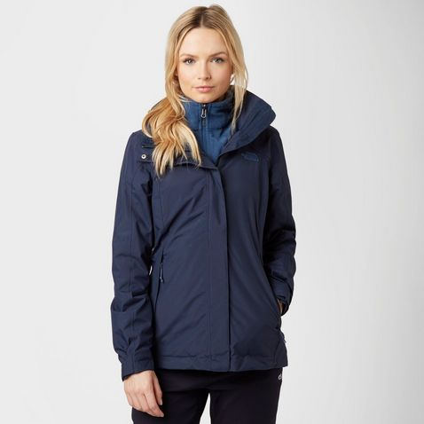 Blue THE NORTH FACE Women's Evolution II Triclimate 3 in 1 Jacket ...