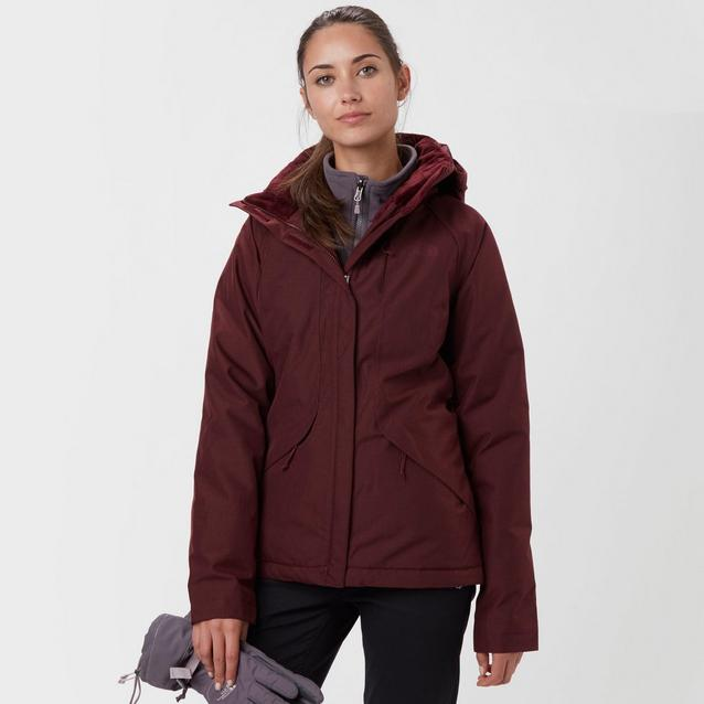 494a8d8ab251 Red THE NORTH FACE Women s Inlux Insulated Jacket image 1