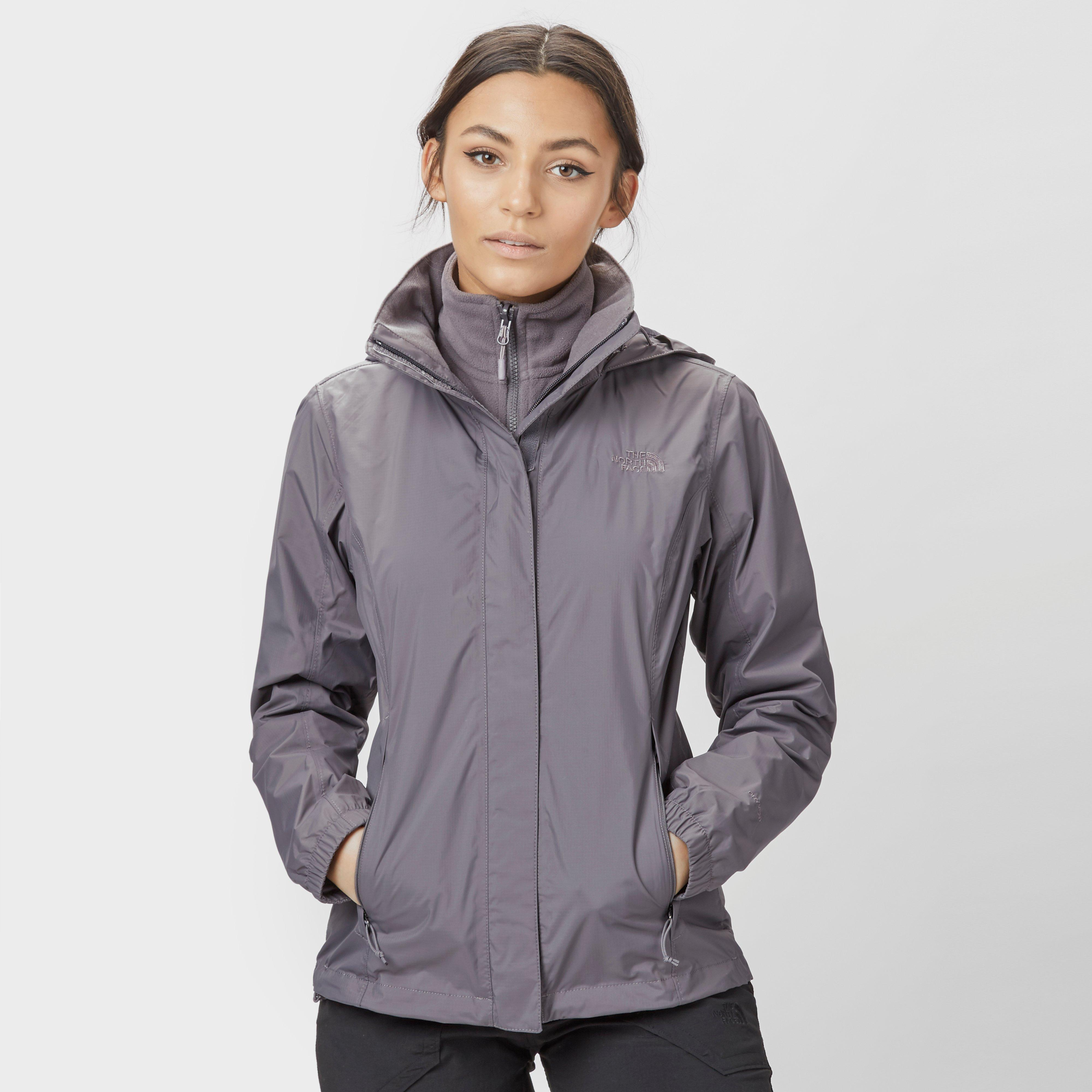 cfdff4e016cd The North Face Womens DryVent Resolve Jacket Grey