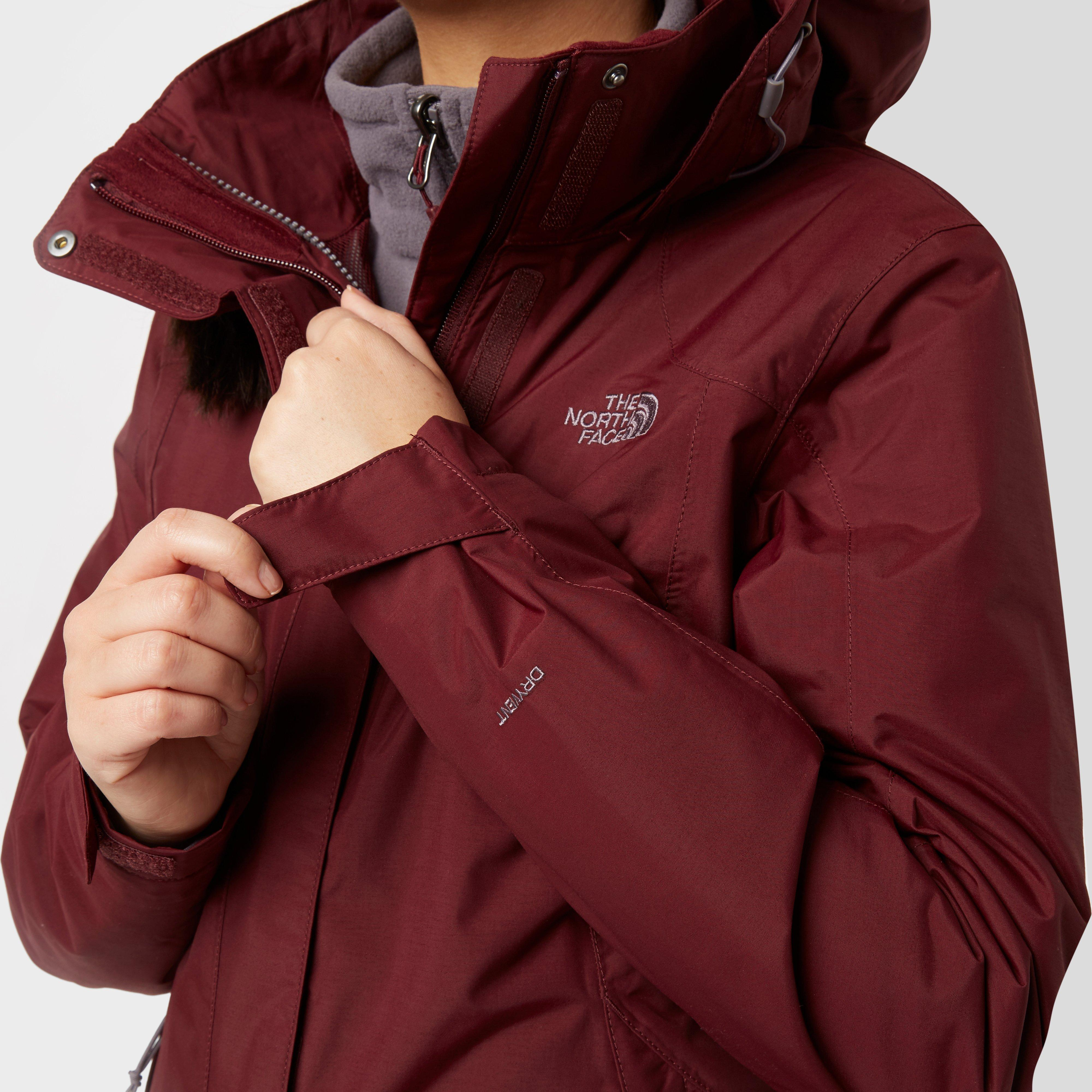 The north face womens evolution 2 triclimate jacket