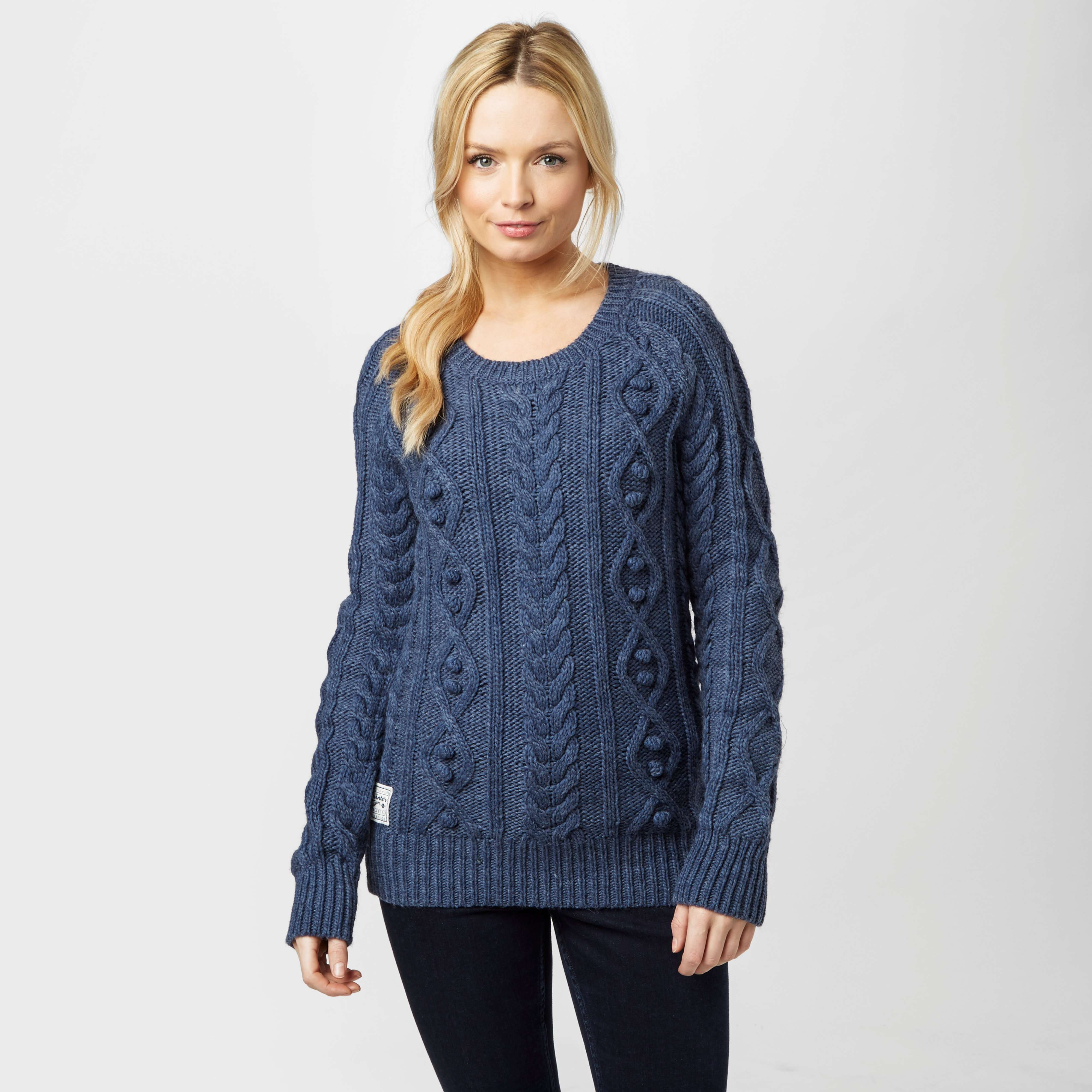 ANIMAL Women's Errie Cable Knit Jumper