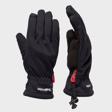 Black TREKMATES Rigg GORE WINDSTOPPER® Gloves ... f939eecc7377