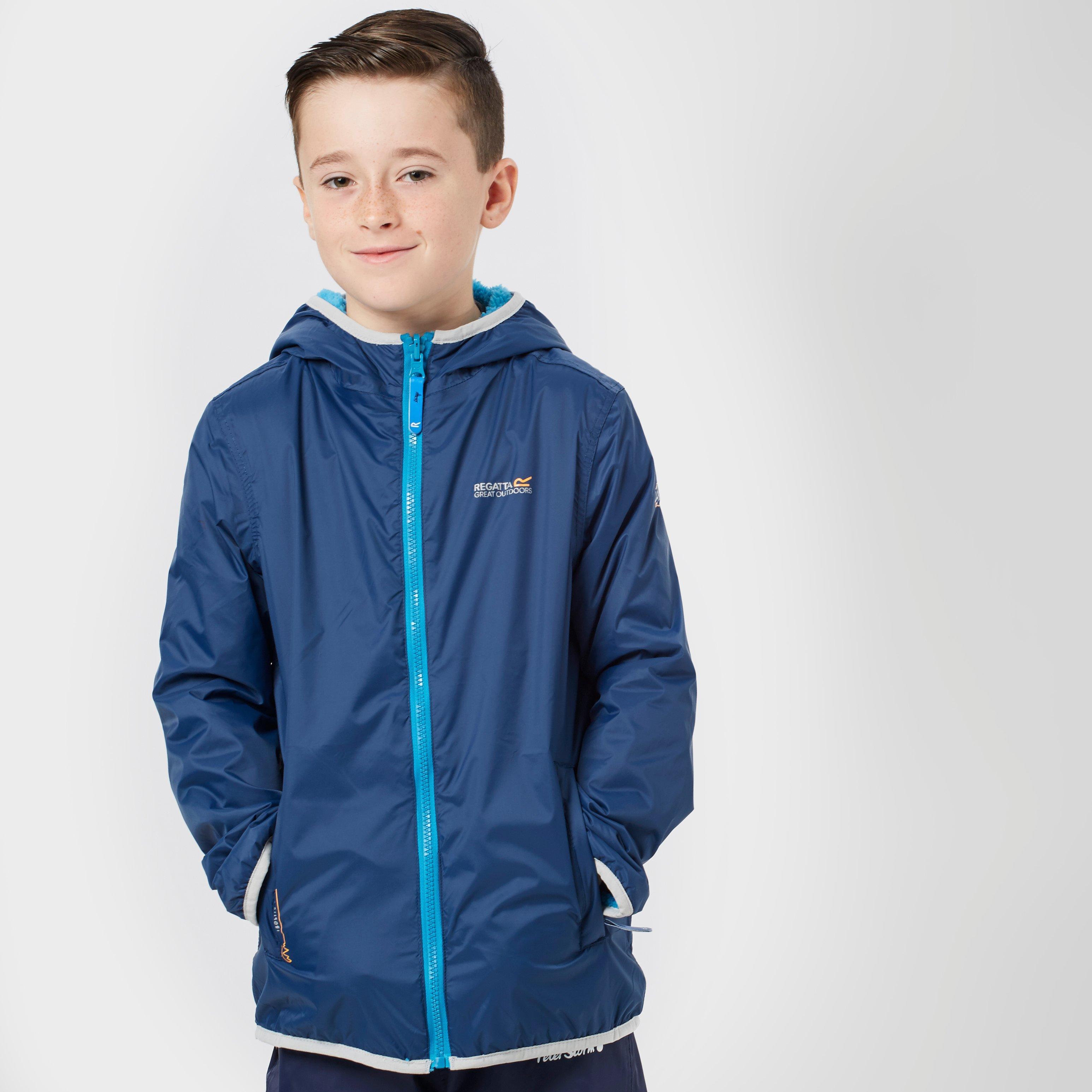 Regatta Boys Lagoona Reversible Jacket  Blue Blue