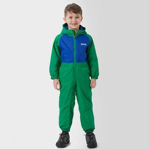 REGATTA Boys' Mudplay II Highland Surf All-In-One Waterproof Suit