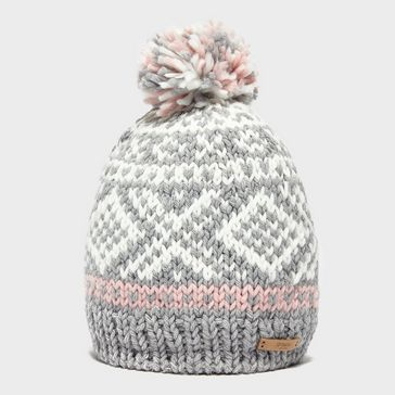 86c80db3 Cream BARTS Women's Log Cabin Beanie ...