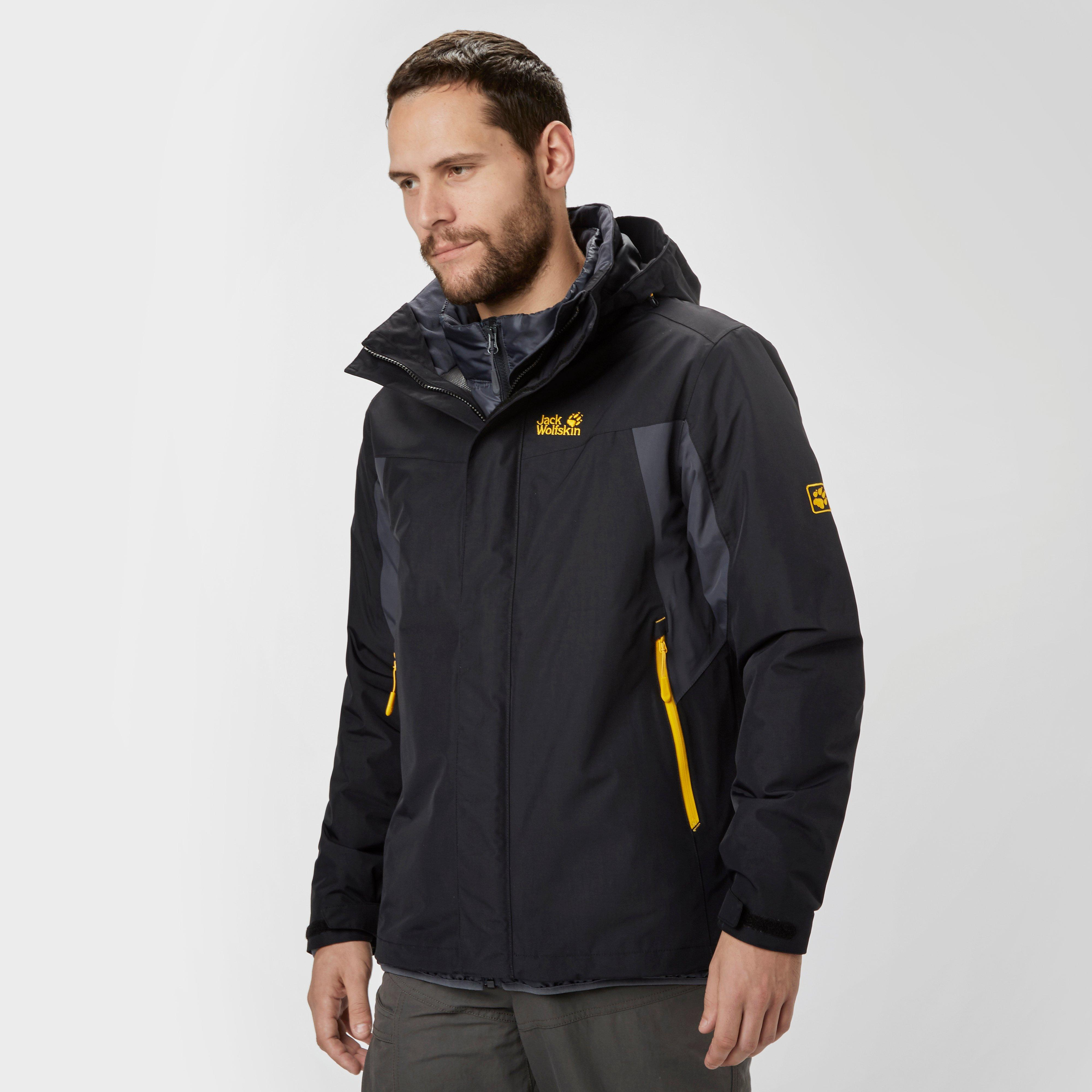 detailed look c47fd 4463c Details about New Jack Wolfskin Men's Mora 3 In 1 Jacket Outdoor Clothing