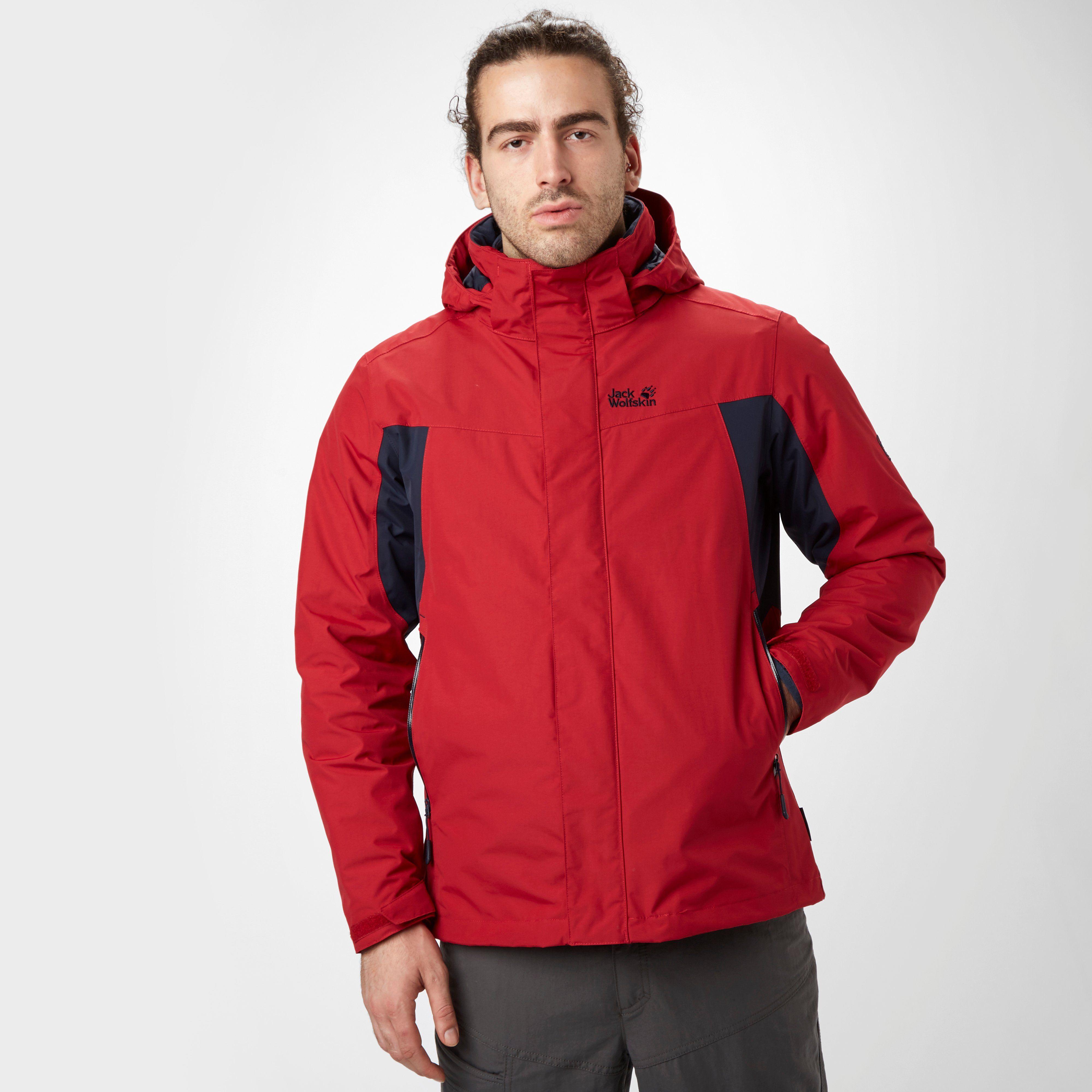 JACK WOLFSKIN Men's Nansen 3-in-1 Jacket