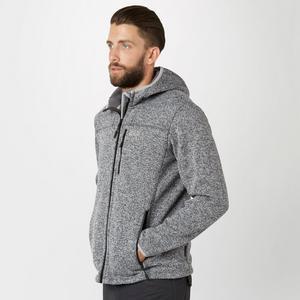 JACK WOLFSKIN Men's Norrland Hooded Fleece Jacket