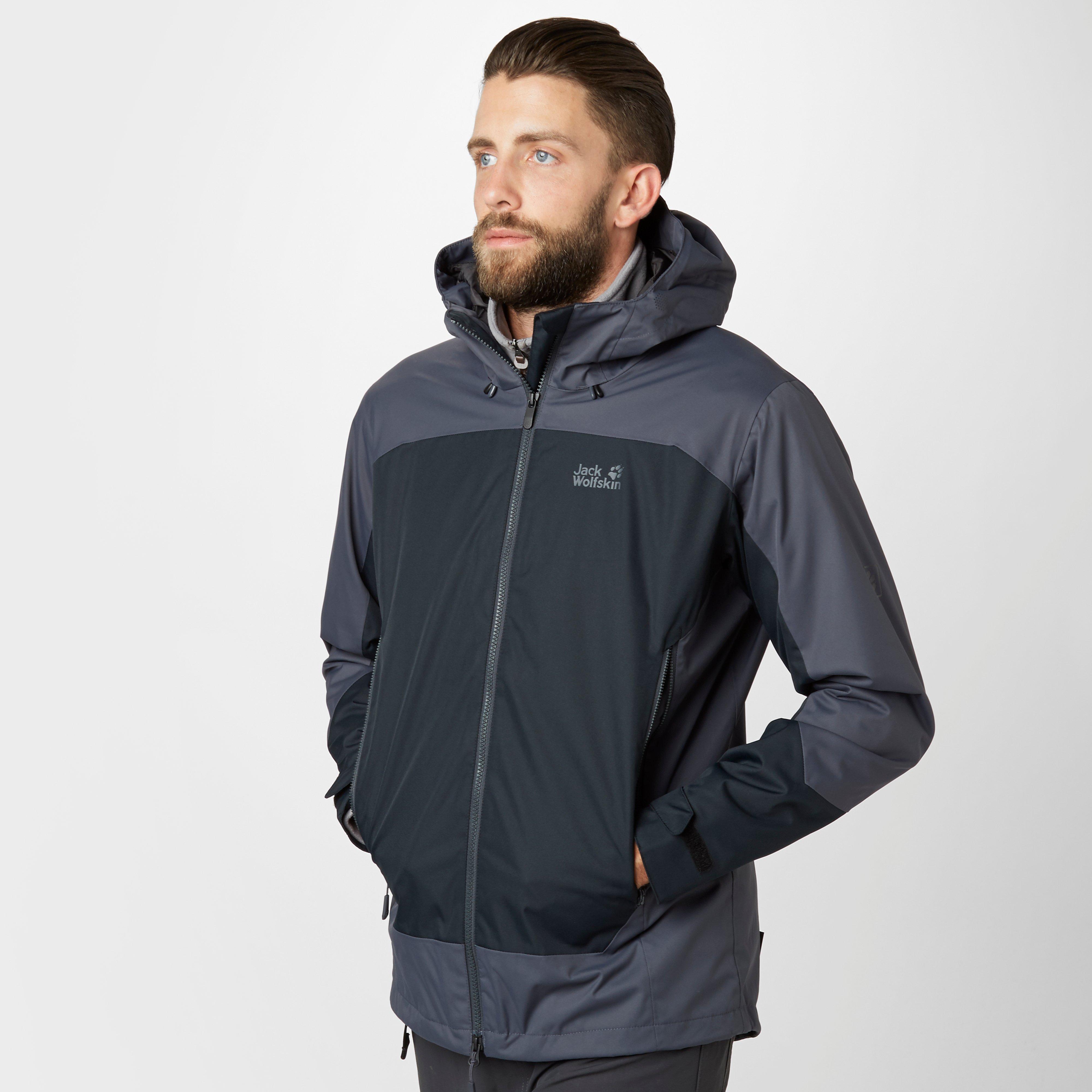 jack wolfskin men's north country winter texapore jacket