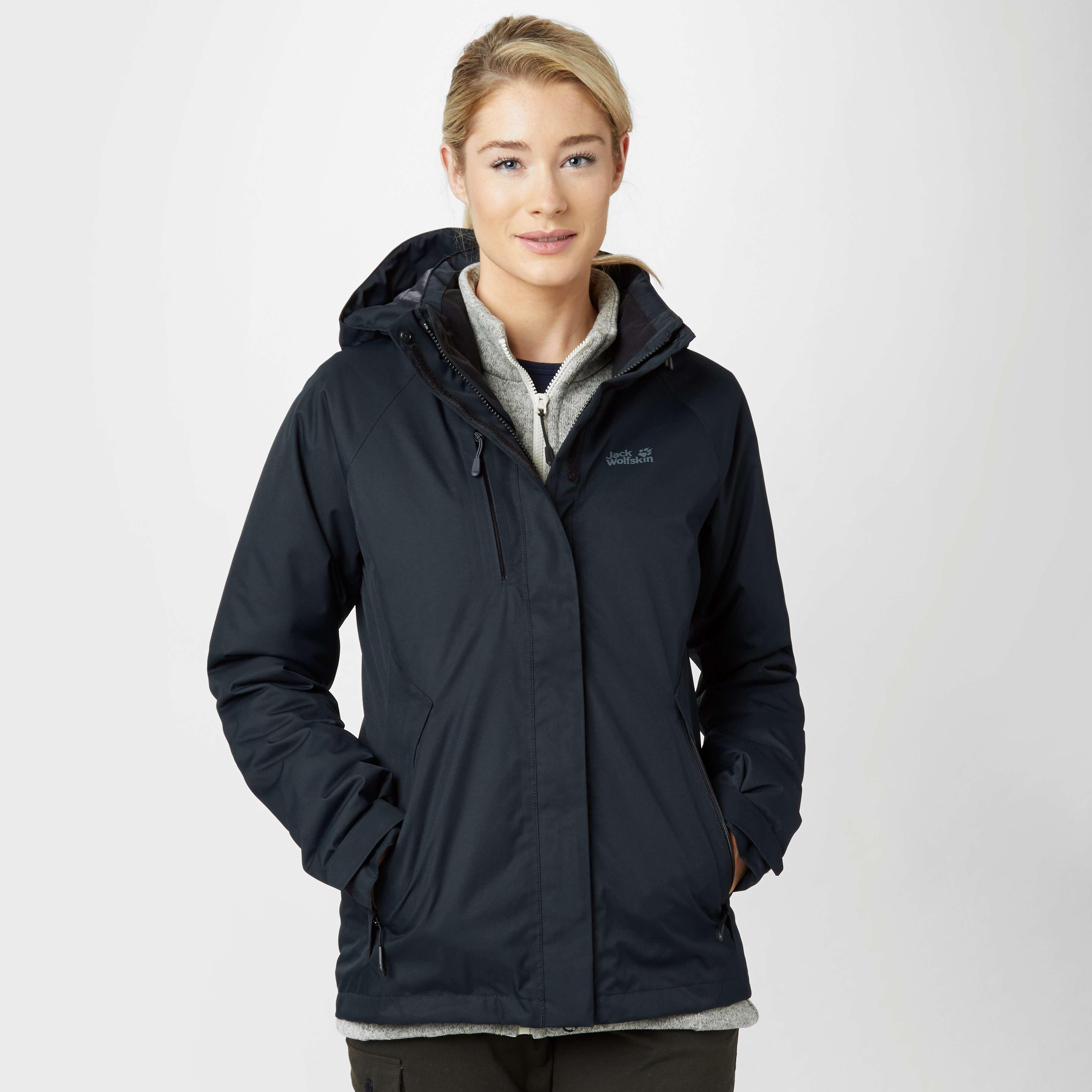 JACK WOLFSKIN Women's Northern Edge Hardshell Jacket