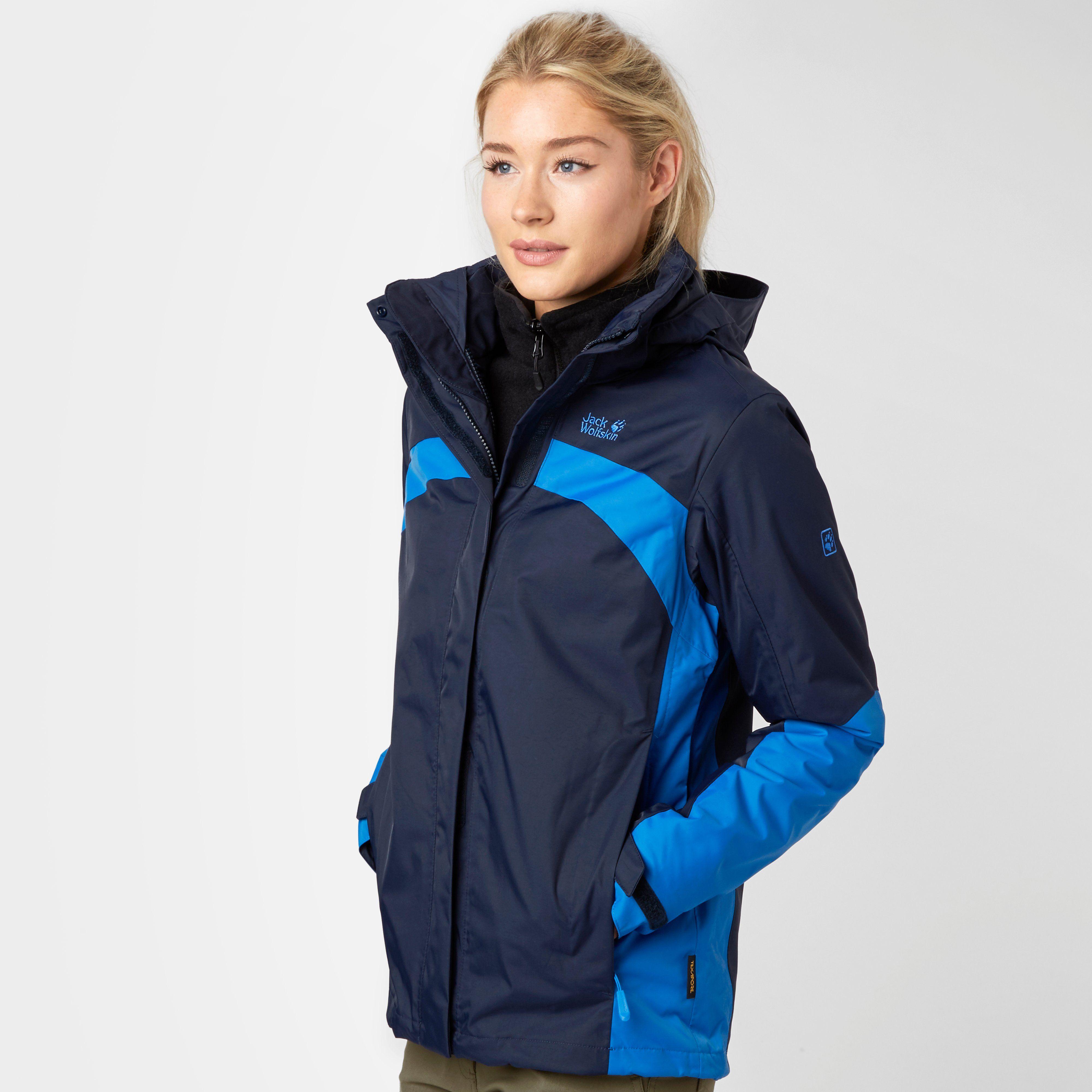 JACK WOLFSKIN Women's Risco 3 in 1 Jacket