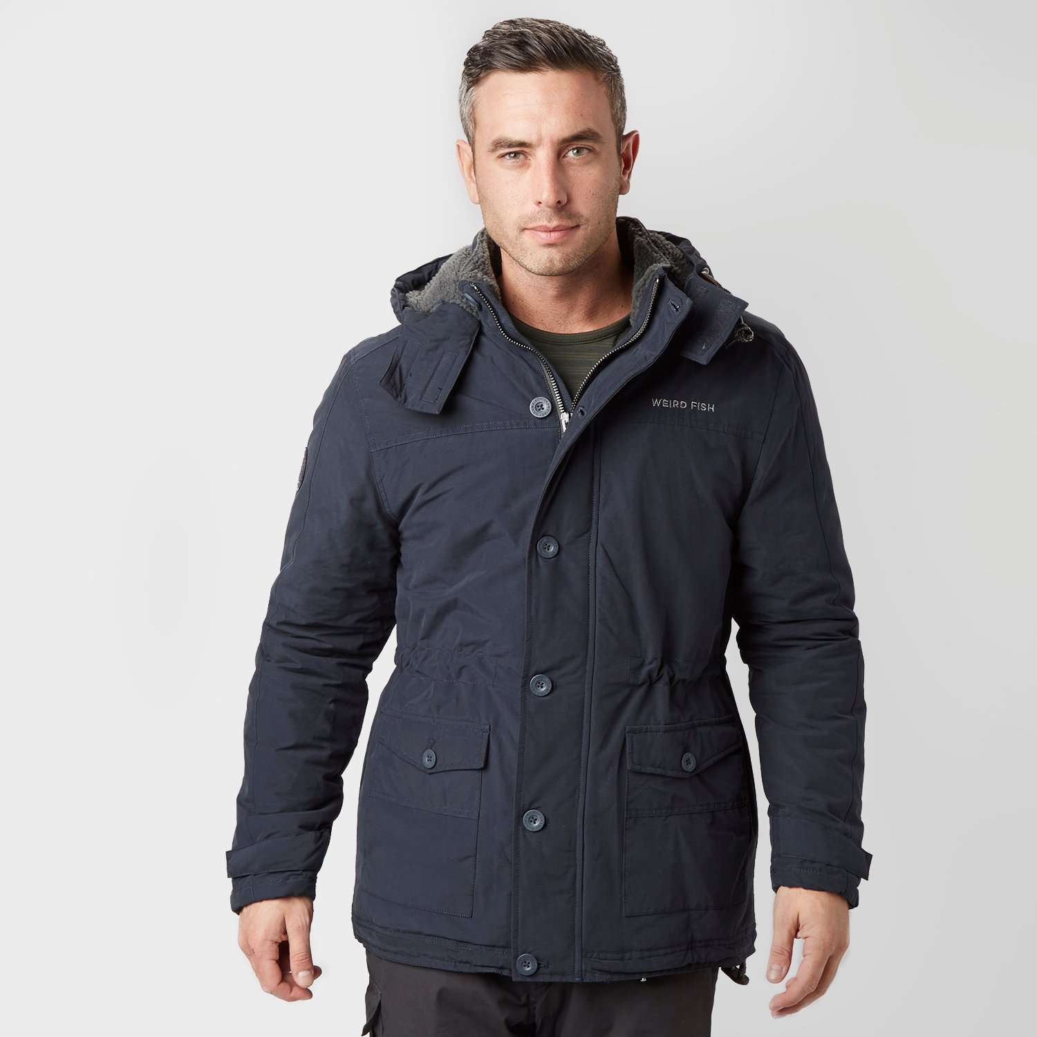 WEIRD FISH Men's Koski Parka