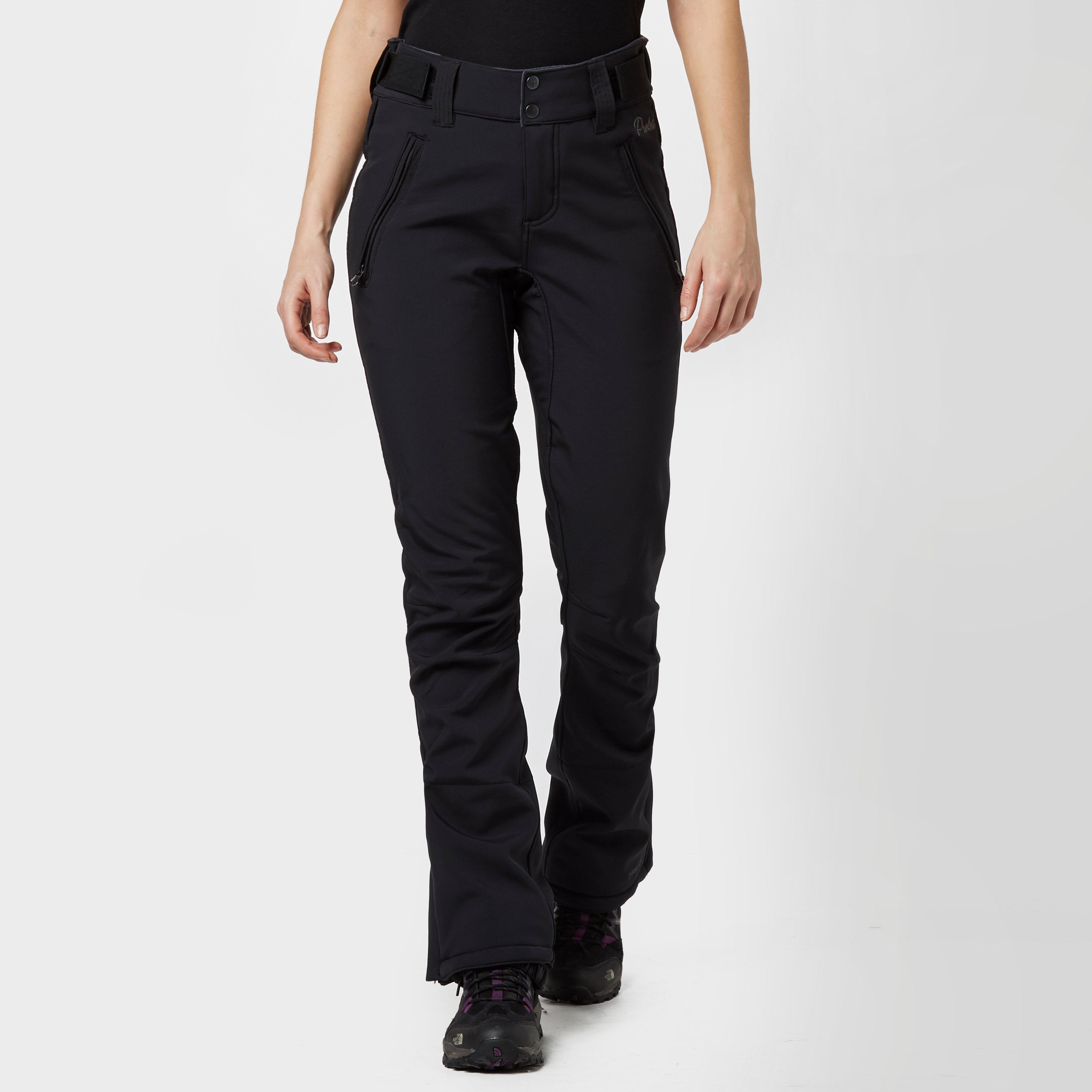 Protest Women's Lole Softshell Ski Pants - Black/Blk, Black