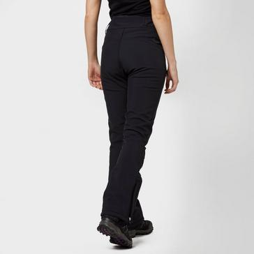 Black Protest Women's Lole Softshell Ski Pants