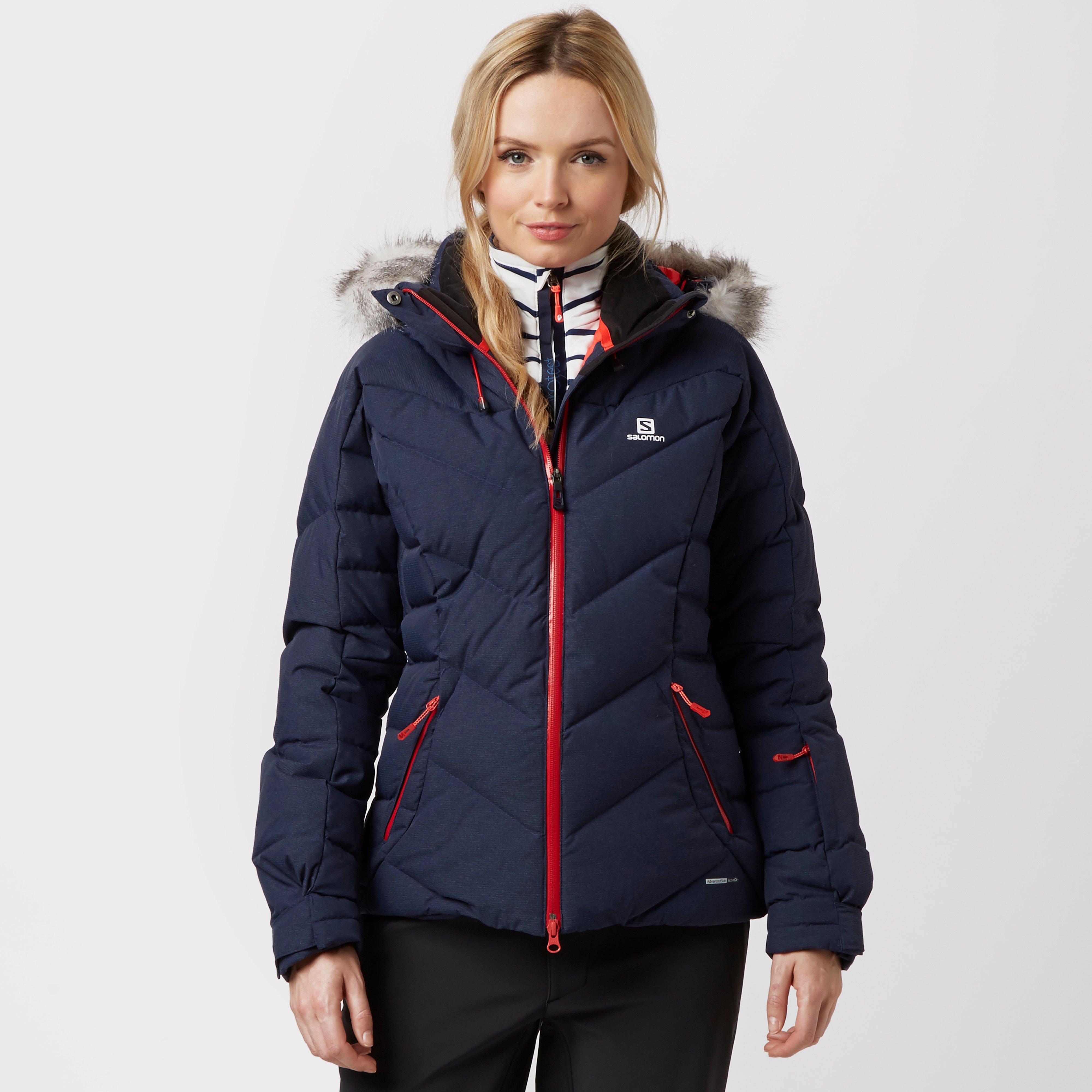 Salomon icetown ski jacket black
