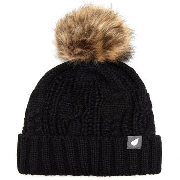 c62d48cbc9e Black PETER STORM Women s Daisy Bobble Hat
