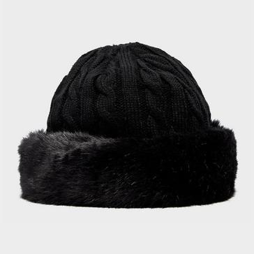 Black Peter Storm Women's Camilla Fur Trim Hat