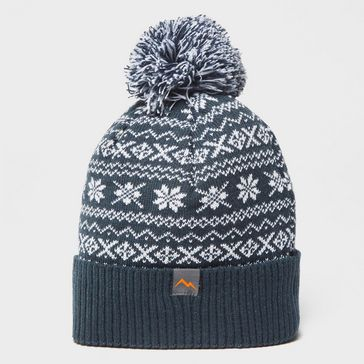 a5122a57d6d Navy PETER STORM Drew Fairisle Bobble Hat ...