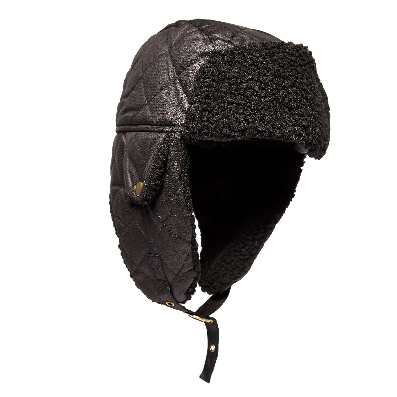 PETER STORM Men's Pedro Fleece Lined Trapper Hat