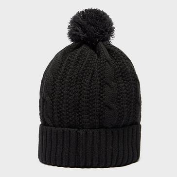 Black Peter Storm Men's Leon Waterproof Knitted Bobble Hat