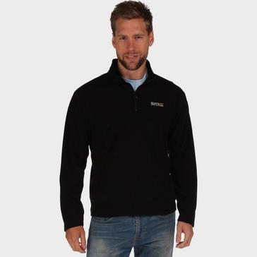 Black Regatta Men's Thompson Half Zip Fleece