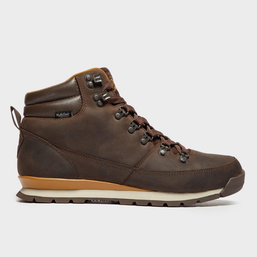 The North Face Boots Mens Tan Tan Back To Berkely Sole Vulcanised Sole Unit