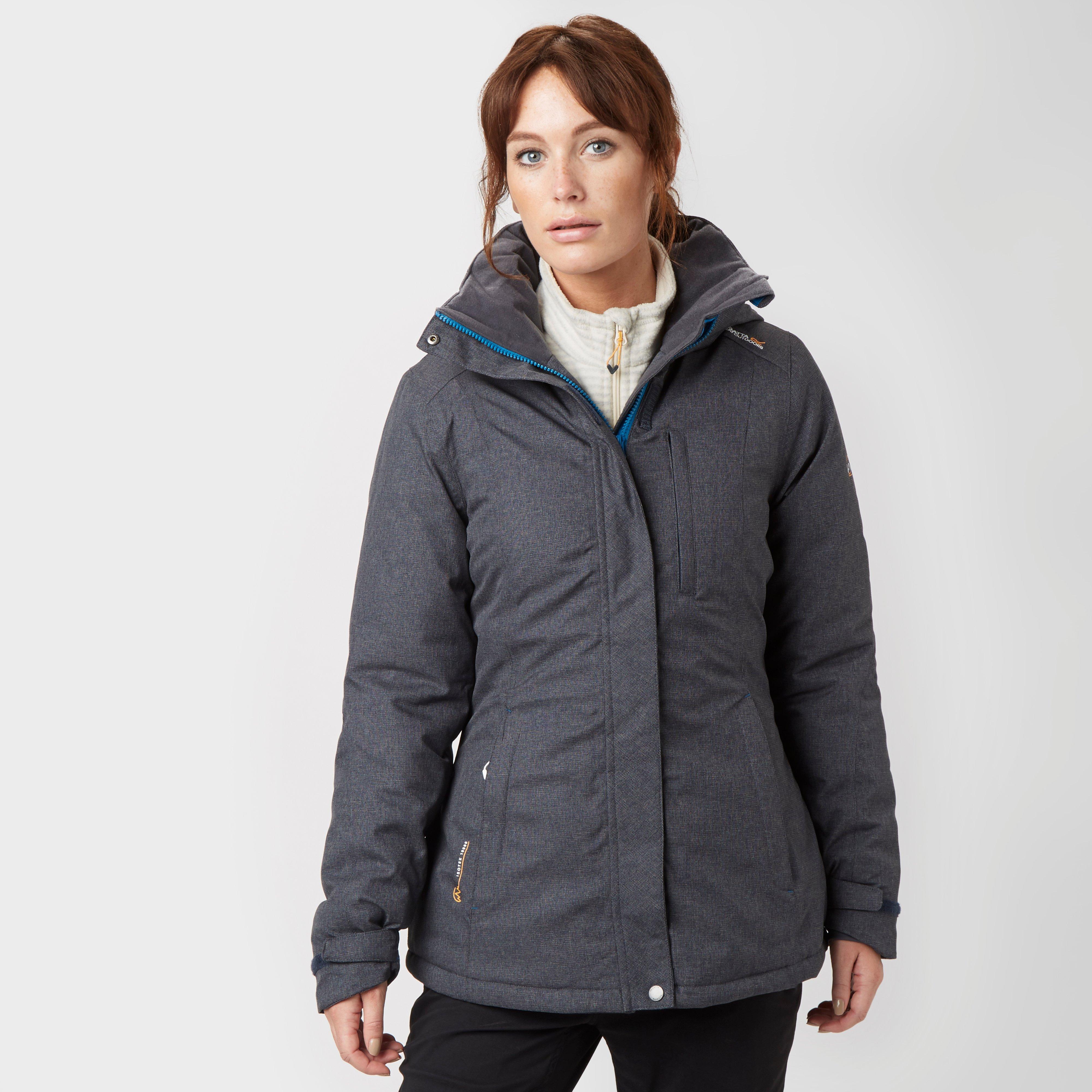 Regatta Womens Highside Waterproof Jacket Grey