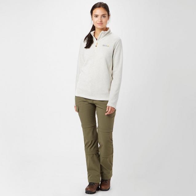 Regatta Womens//Ladies Embraced II Half Zip Symmetry Walking Fleece