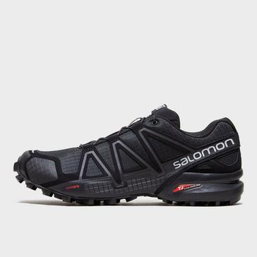 fbfe3aea2cf0 Black Salomon Men s Speedcross 4 Trail Running Shoes