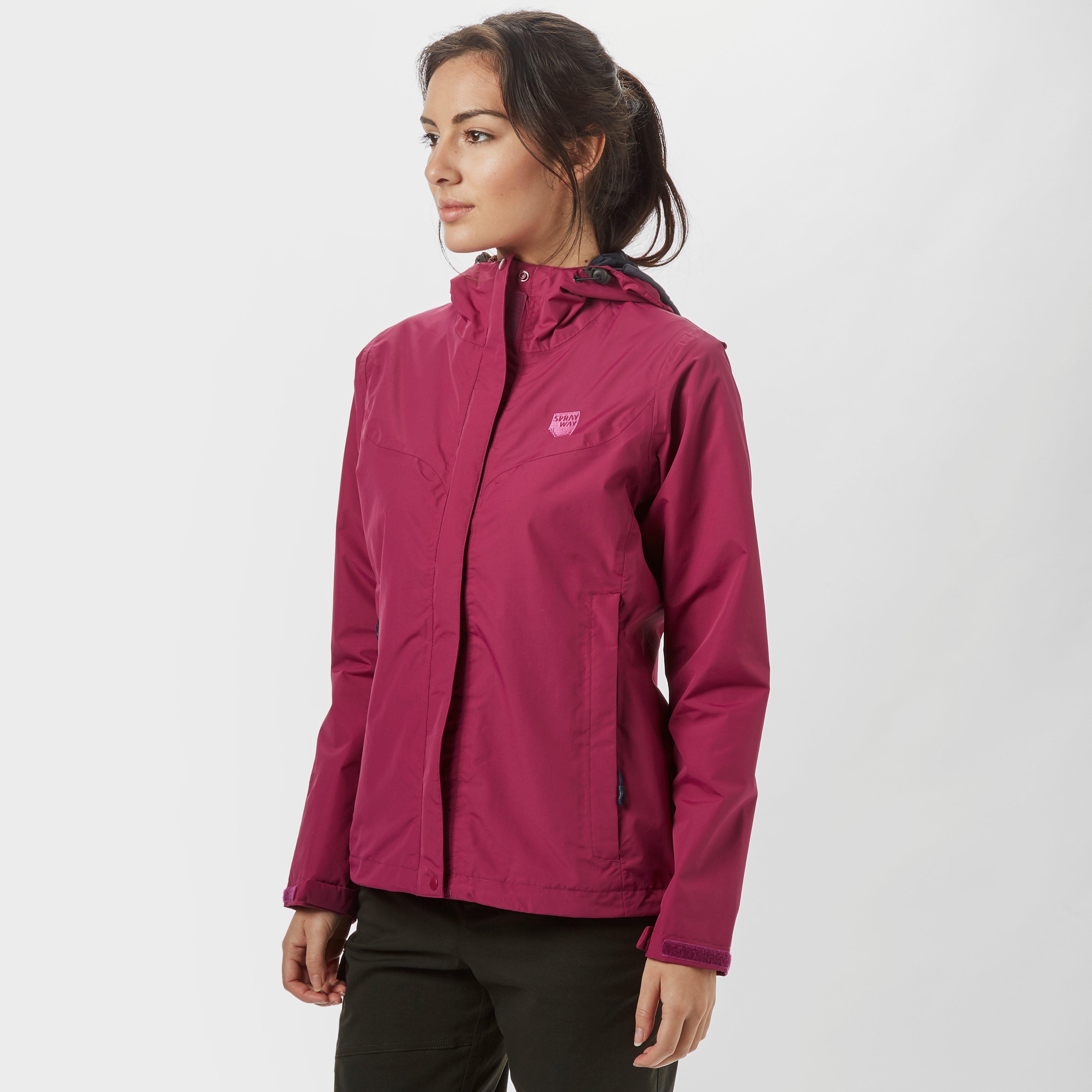 Sprayway Sprayway womens Sierra Waterproof Jacket - Pink, Pink