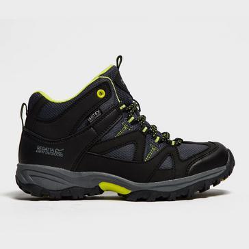 28c735699042f Black REGATTA Kids' Gatlin Mid Walking Boot