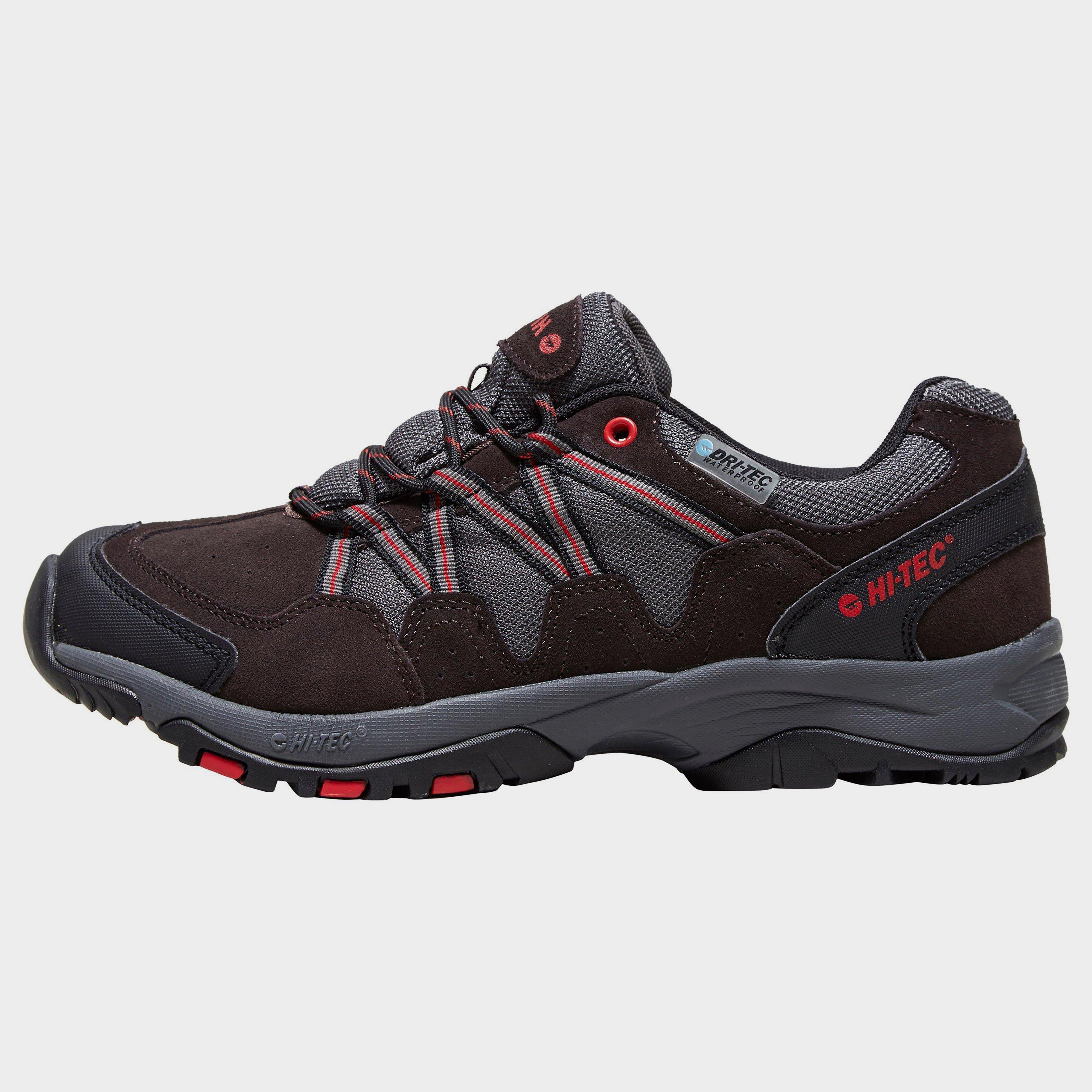 Hi Tec Hi Tec Mens Dexter Waterproof Hiking Shoe - Black, Black