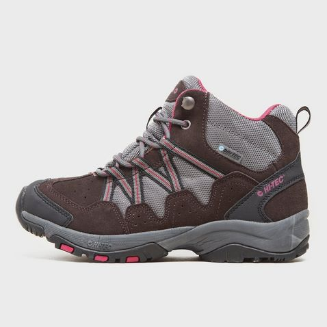 Grey HI TEC Women's Florence Mid Walking Boot ...