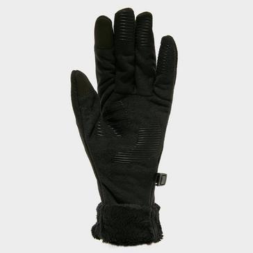 Black Outdoor Research Women's Fuzzy Sensor Gloves
