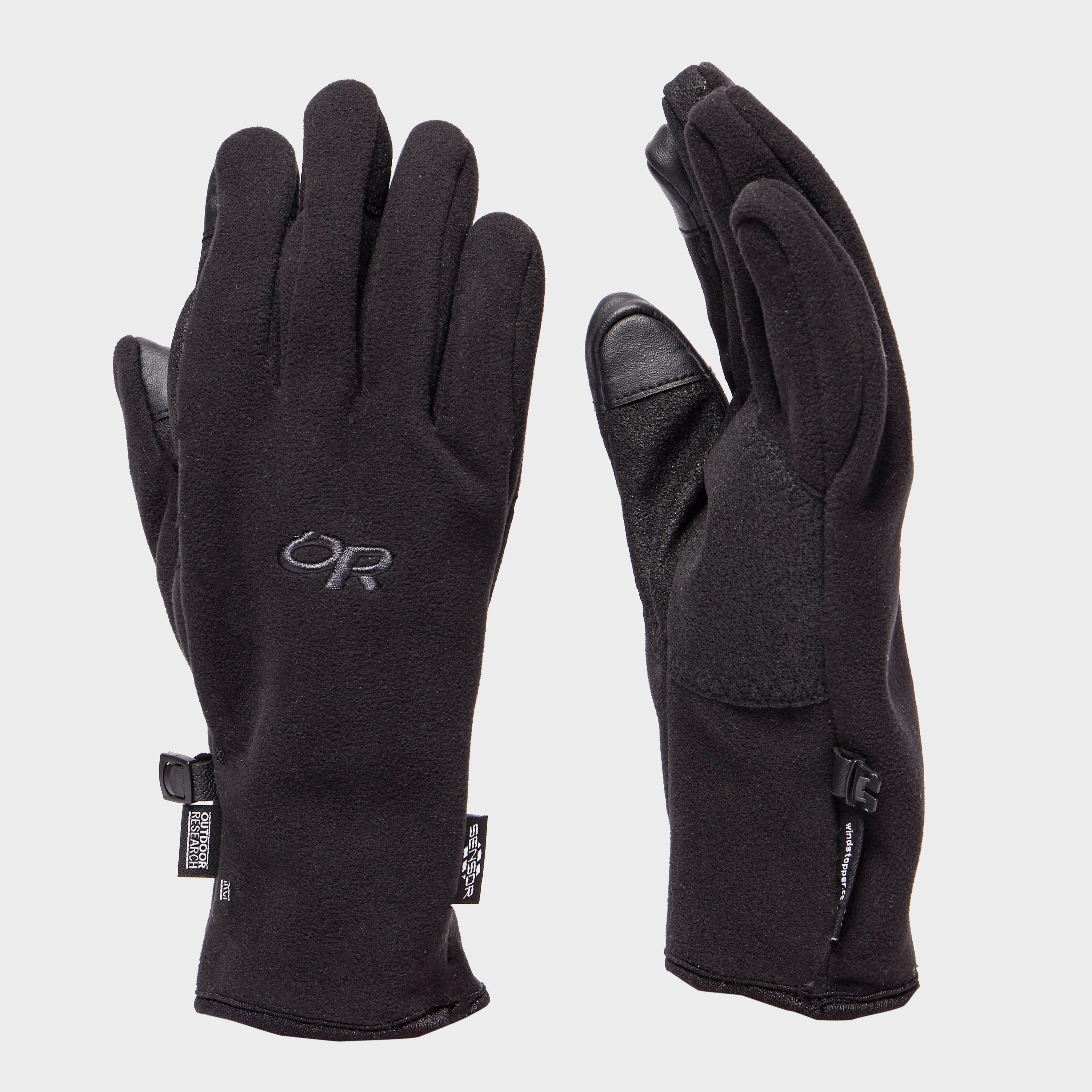 Outdoor Research Outdoor Research Mens Gripper Sensor Glove - Black, Black