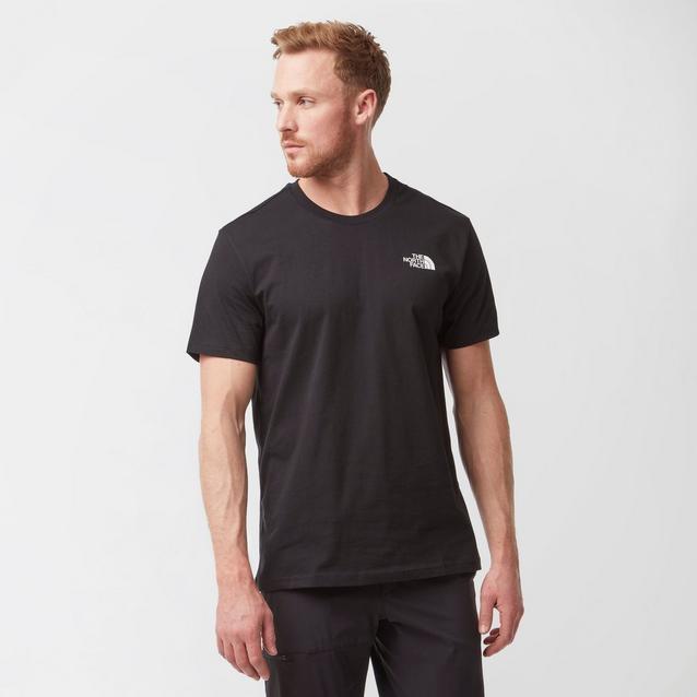 b89099e60 Black THE NORTH FACE Men's Short Sleeve Simple Dome T-Shirt image 1