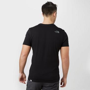 Black The North Face Men's Short Sleeve Easy T-Shirt