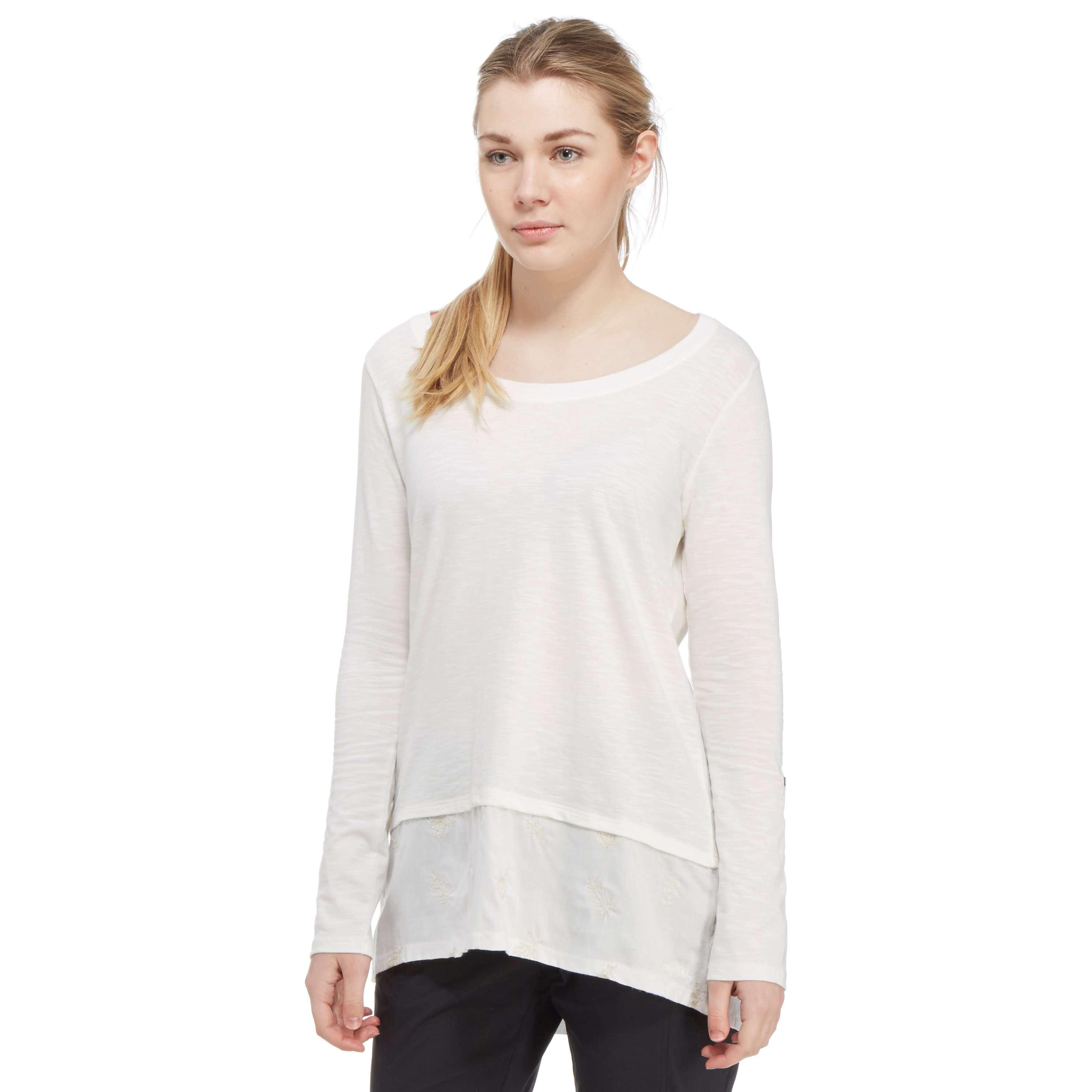 WEIRD FISH Women's Oregon Long Sleeve T-Shirt