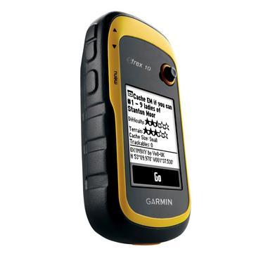 Yellow Garmin eTrex® 10 Handheld GPS