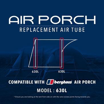 Black Eurohike Air Porch Replacement Air Tube - 630L
