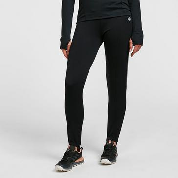 Black Ronhill Women's Trackster Classic Running Tights