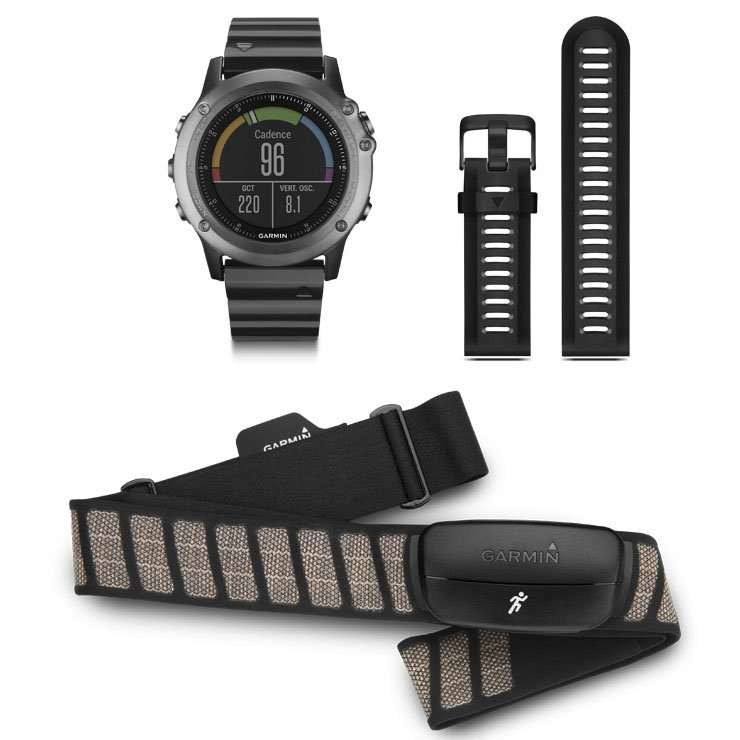 GARMIN Fenix 3 Watch Saphire Performer Bundle