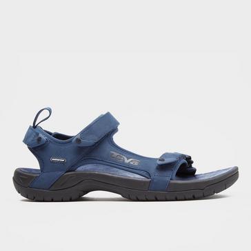 21c26c91ca60 Navy TEVA Men s Tanza Leather Sandal