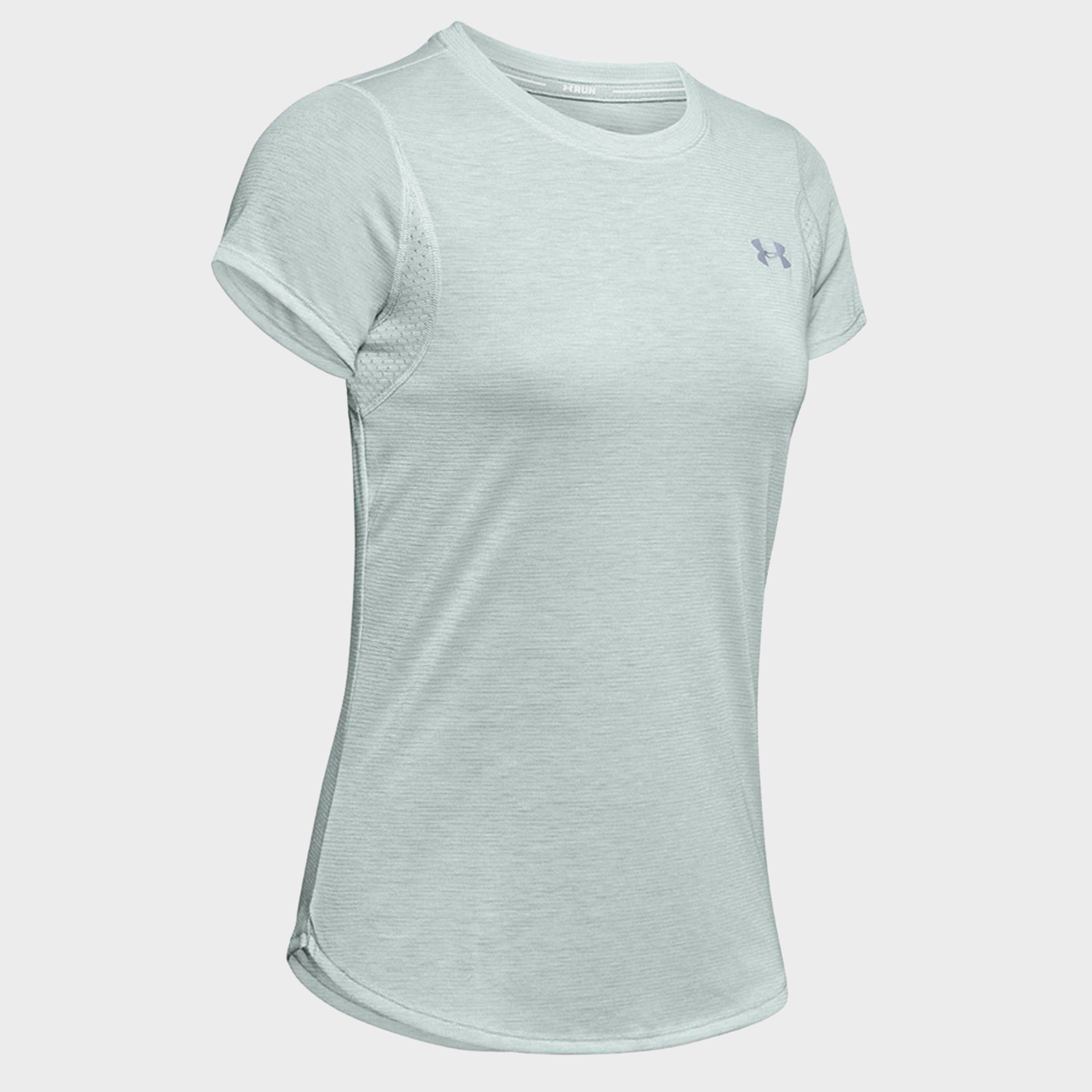 Under Armour Under Armour womens UA Streaker Short Sleeve Tee - Grey, Grey