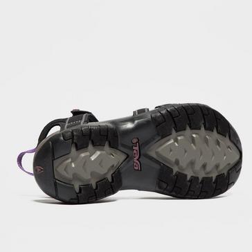 Black Teva Women's Tirra Sandals