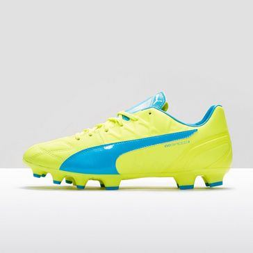 Yellow Puma evo 3.4 Lth Football Boot ... 510ac54055a3c