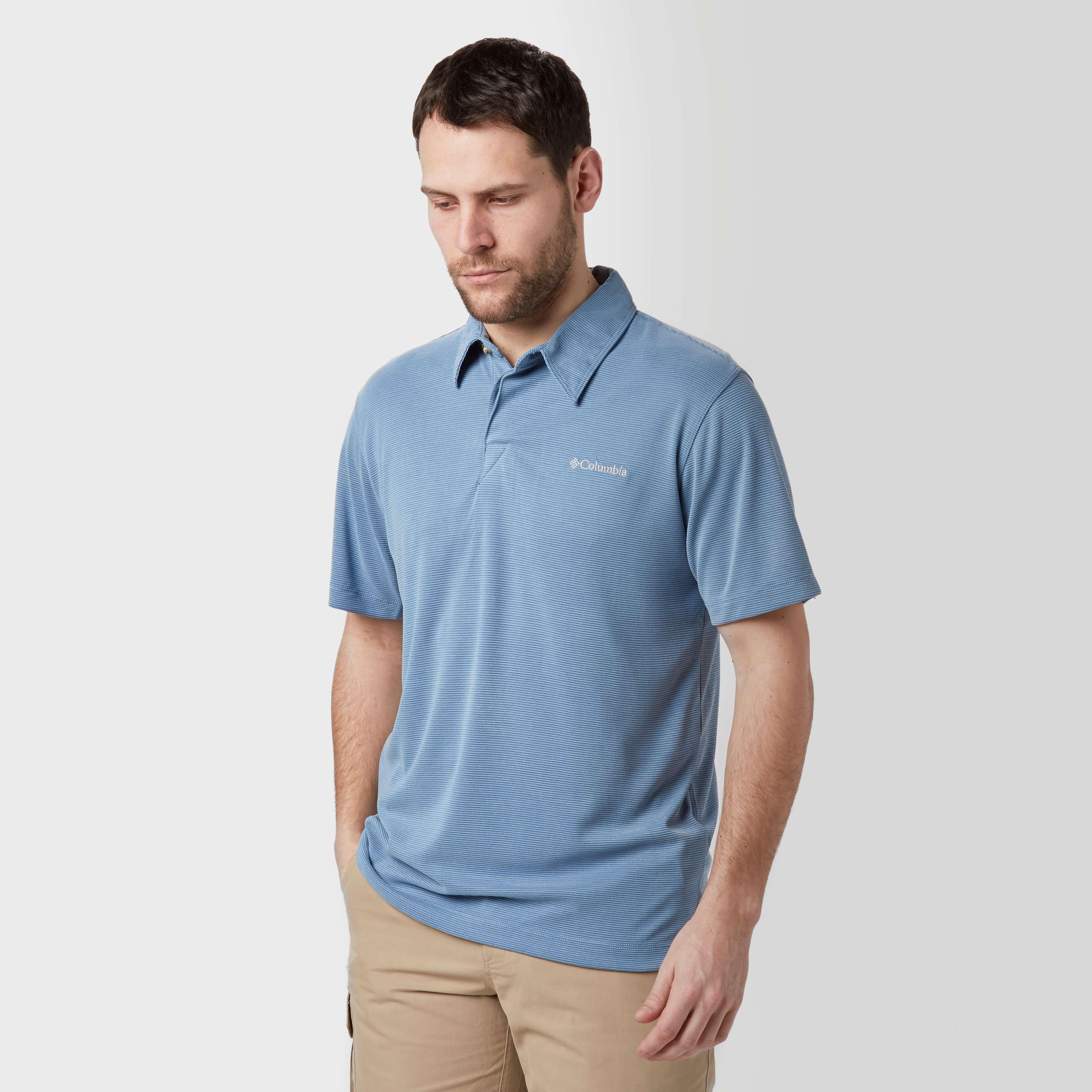 COLUMBIA Men's Sun Ridge Polo Shirt