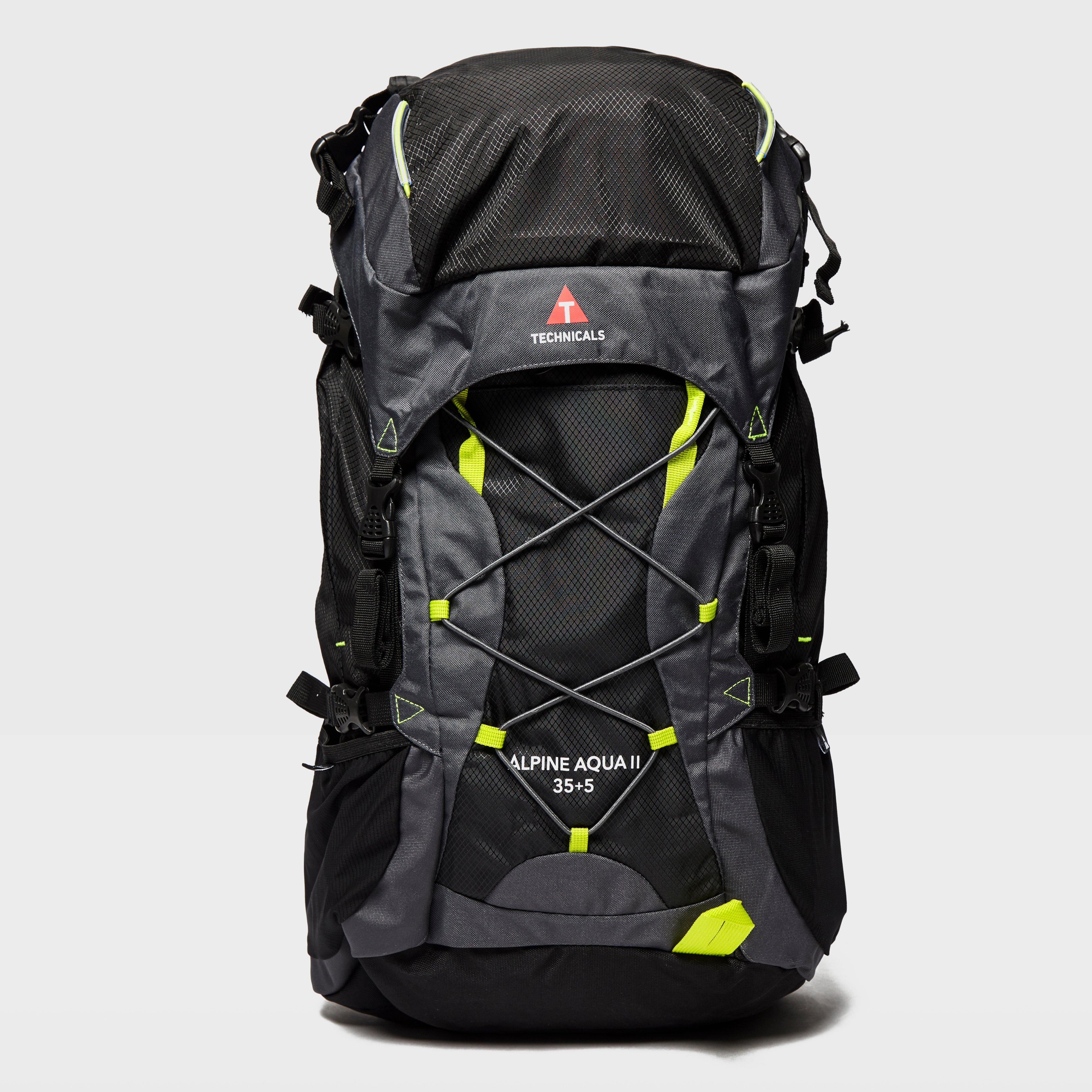 New Technicals Alpine Aqua II8010 Litre Rucksack Travel Bag